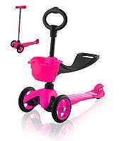 Самокат Eco-line SADDLER розовый, фото 1