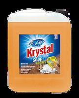 Моющее средство для мытья полов с пчелиным воском 5 л KRYSTAL