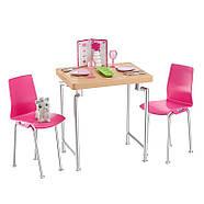 Barbie Меблі для ляльок Відпочинок вдома Обідній стіл / Barbie Dining Set & Kitten, фото 4