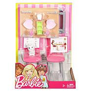 Barbie Меблі для ляльок Відпочинок вдома Обідній стіл / Barbie Dining Set & Kitten, фото 5