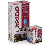 Моторное масло XADO Atomic Oil 10W-40 SG/CF-4 Silver    (ж/б  5 л)