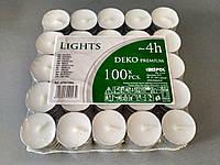 Свечи чайные (таблетки) 100 шт Польша