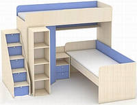 Кровать двухъярусная Никс, фото 1