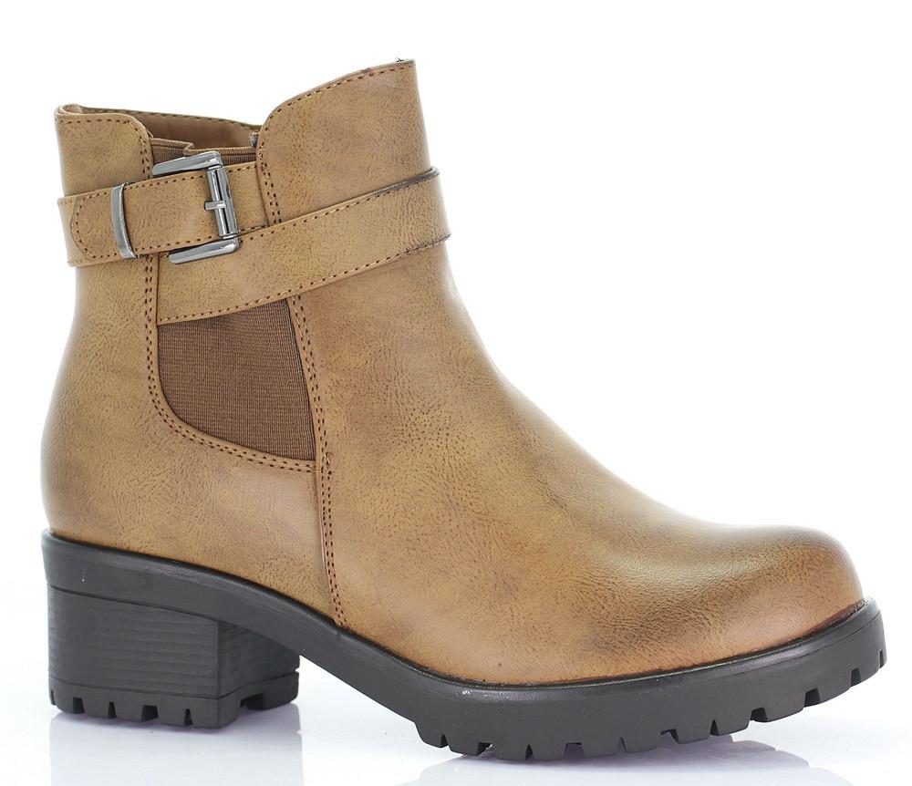 Женские ботинки Pazzo camel