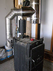 Труба для дымохода 0,5 метра 0,5 мм AISI 304, фото 2