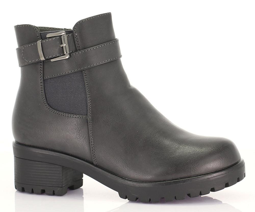 Женские ботинки Pazzo grey