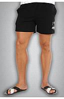 Мужские спортивные шорты черные, фото 1