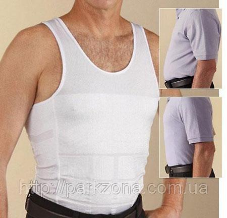 Чоловіча корекційна майка Slim-n-Lift for men - стягуюча білизна