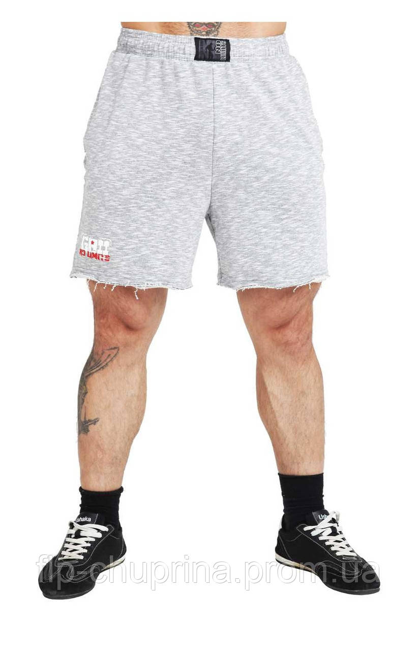 Чоловічі спортивні шорти світло-сірі