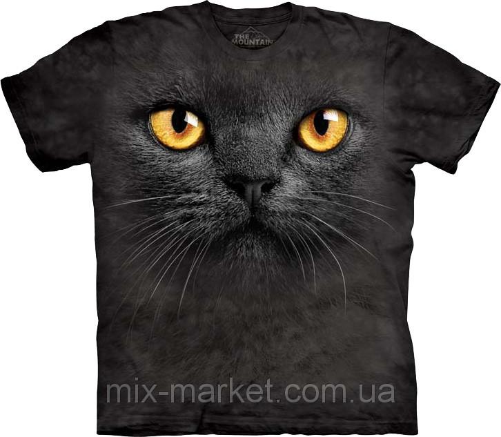 Футболка The Mountain - Big Face Black Cat - 2014