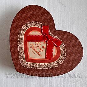 Подарочная коробка на 14 февраля (сердце)