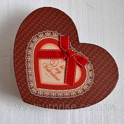 Подарочная коробка на 14 февраля (сердце), фото 2