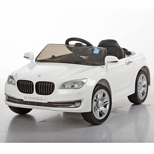Детский электромобиль M 3293 EBLR-1: 2.4G, 70W, EVA, кожа - Белый- купить оптом