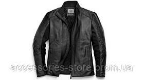 Мужская кожаная куртка Audi Mens Leather Jacket by Pzero