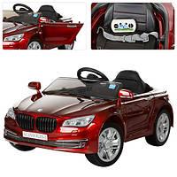 Детский электромобиль M 3293 EBLRS-3: 2.4G, 70W, EVA, кожа - Бордовый-Покраска- купить оптом