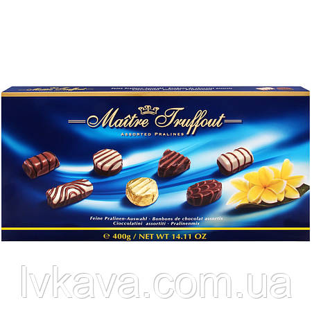 Цукерки Assorted Pralines Maitre Truffout , 400 гр, фото 2