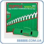 """Набор ключей комбинированных дюймовых 16 шт. (1/4"""" - 1-1/4"""") GBAA1604 TopTul, Тайвань"""