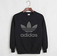 Мужской СВИТШОТ Adidas (Адидас) Black, gray 🔥