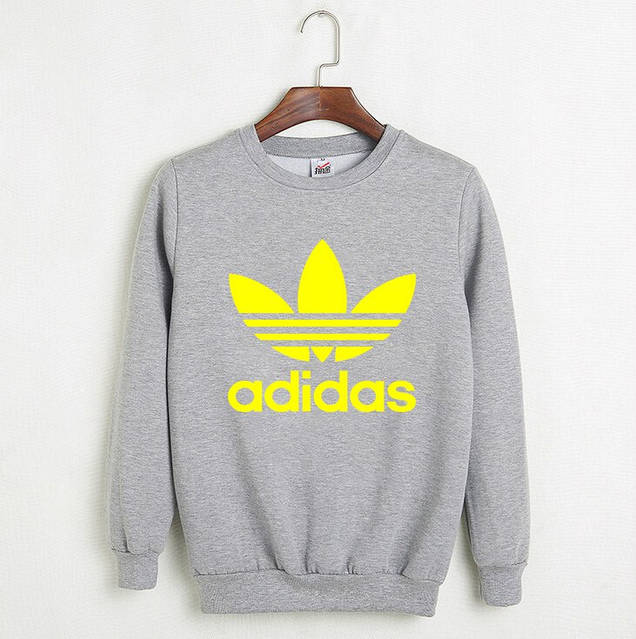 Мужской СВИТШОТ Adidas (Адидас) Black, gray 🔥, фото 2