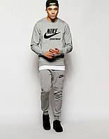Мужской спортивный костюм Найк, Nike, серый