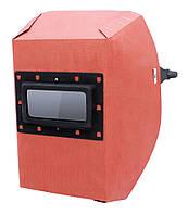 Маска сварщика фибра-картон 1,0мм VITA красный цвет
