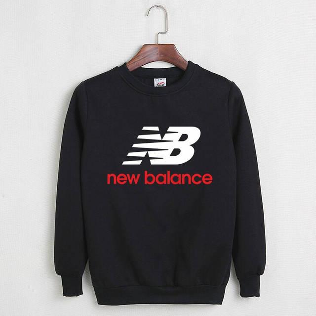 Мужской СВИТШОТ New Balance (Нью Беланс) Black, gray 🔥, фото 1