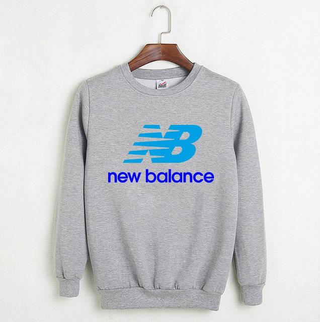 Мужской СВИТШОТ New Balance (Нью Беланс) Black, gray 🔥, фото 2