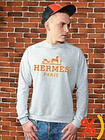 Свитшот мужской кофта мужская Hermes