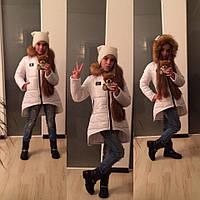 Теплая зимняя курточка для девочки