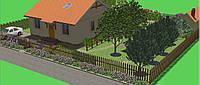 Ландшафтный проект в 3D-формате