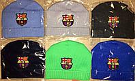 Детские шапки с футбольными логотипами