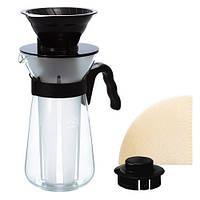 HARIO V60 FRETTA для горячего и холодного приготовления кофе VIC-02B, фото 1