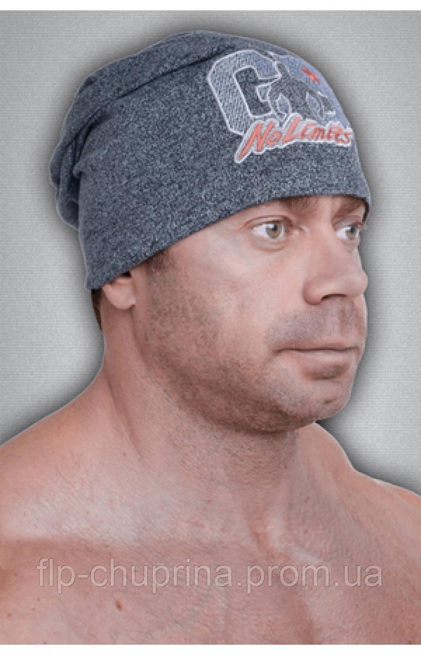 Мужская спортивная шапка GET BIG серая