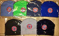 Детские шапки с футбольным логотипом
