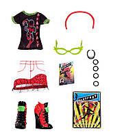 Набор одежды для Гулии Monster High Comic Book Club Ghoulia Yelps Fashions Pack