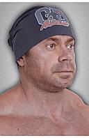 Мужская спортивная шапка GET BIG темно-серая