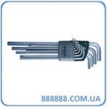 Набор ключей шестигранных удлиненных 12 шт. (дюймовые) 09104 Sata