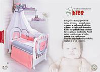 """Детская постель в кроватку """"MIMIKIDS"""" Premium 8 ел"""