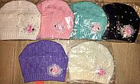 Тонкие шапочки на девочек
