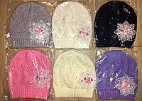 Стильные вязанные детские шапки