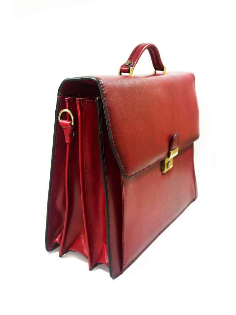 f07664e31c3f Портфель Кожаный Katana Мужской Красный 63032 — в Категории ...