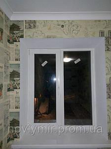 Комплексная установка металл опластиковых окон