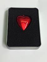 USB флешка 32GB кулон сердце