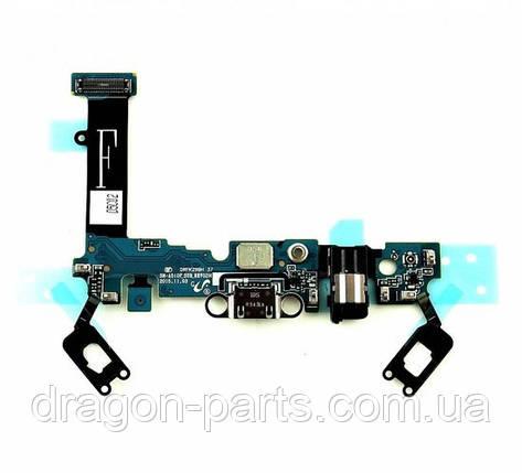 Шлейф (нижняя плата) для Samsung A510 Galaxy A5 ,GH96-09381A оригинал, фото 2
