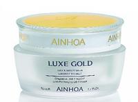 Ainhoa R2005 Крем дневнойь-ночь с икрой и золот. пудрой (Day&Night cream) Oxygen Line (кислородонасыщающая) 200 мл