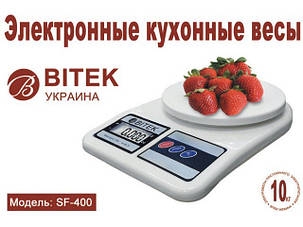 Весы кухонные SF-400 Витек 10КГ  (SF-400), фото 2