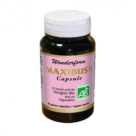 Максибюст, капсулы органические  Nutriexpert Ineldea