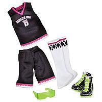 Набор одежды для Дьюса Школьная униформа Monster High School Spirit Scream Uniforms Deuce Gorgon Fashion Pack