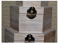 Набор деревянных шкатулок для декупажа 1476, фото 1
