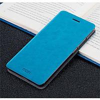 Чехол книжка Mofi для телефона Xiaomi Redmi 4 Pro голубой